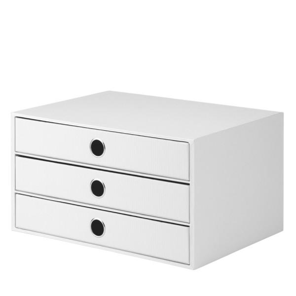 Rössler S.O.H.O. special edition White - 3er Schubladenbox A4