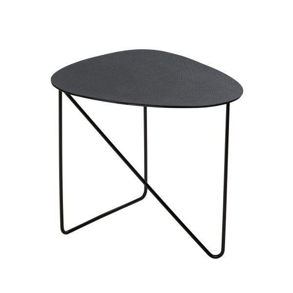 Lind DNA Coffe Table Curve M 40x43x37 cm hippo black-anthracite/ STEEL black