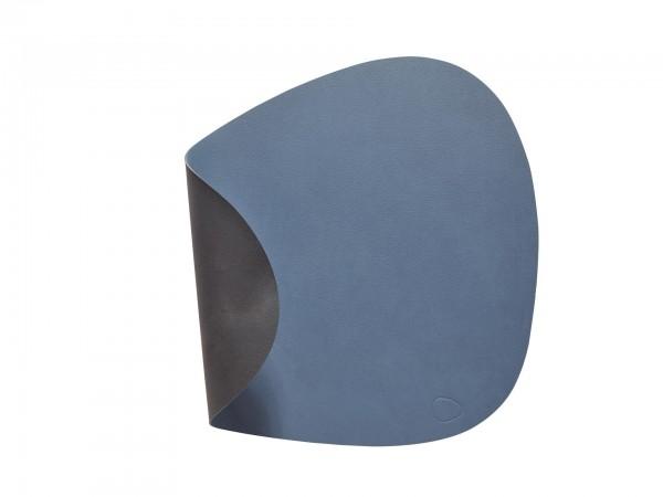 "Lind DNA Tisch Set ""DOUBLE Curve L"" 37x44 cm NUPO dunkel blau/NUPO schwarz"
