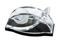 WEDO® Acryl-Klebefilm-Abroller schw/klar