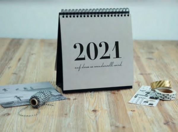 Rössler Foto Kalender 2021 Tischaufsteller Joy