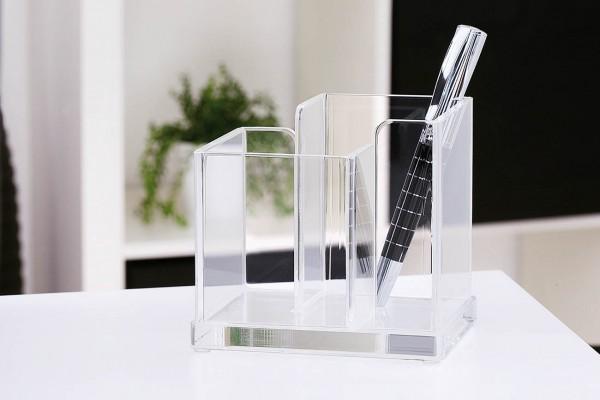 WEDO® Acryl-Butler mit 2 Fächern klar