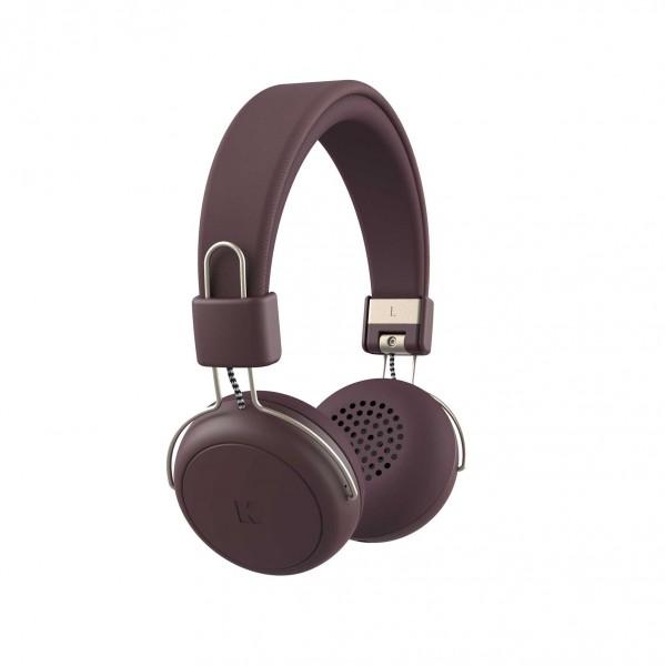 Kreafunk aWEAR Bluetooth-Kopfhörer urban plum