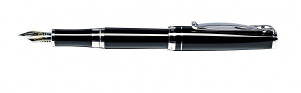 Füller Skribent Platinum schwarz Cleo Skribent