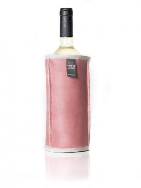 Kywie Wine Cooler Pink Leather Weinkühler