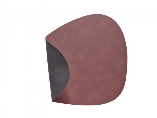 """Lind DNA Tisch Set """"DOUBLE Curve L"""" 37x44 cm NUPO lila/NUPO schwarz"""