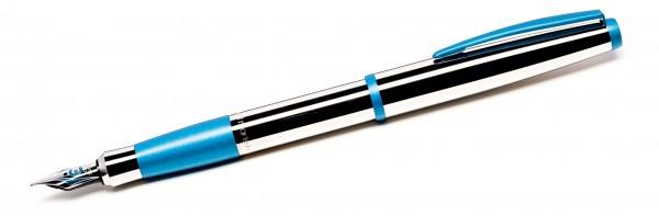 Füller COLOUR - glänzend aquablau Cleo Skribent