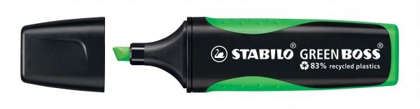 STABILO GREEN BOSS grün