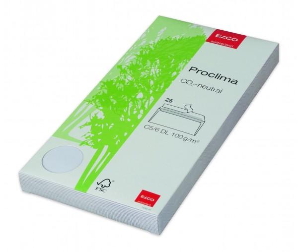 Proclima Kuverts in Box, haftklebend, ohne Fenster C5/6 DL