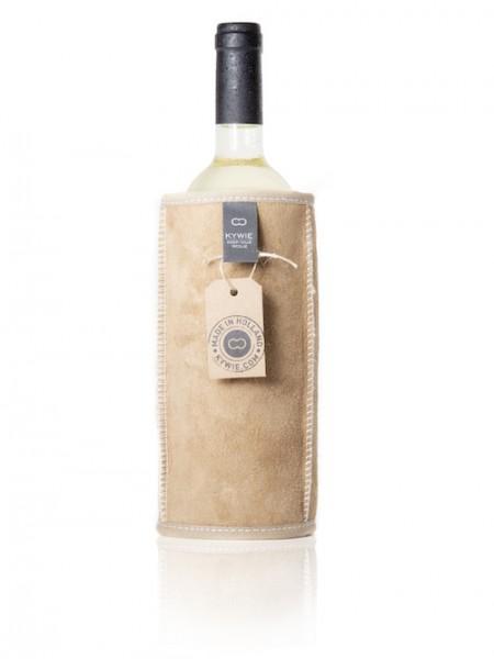 Kywie Wine Cooler Camel Suede Weinkühler