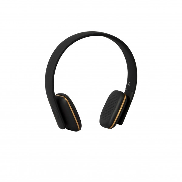 Bluetooth Kopfhörer black, gold details aHead Kreafunk
