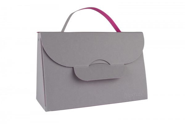 Buntbox Handbag L Schiefer