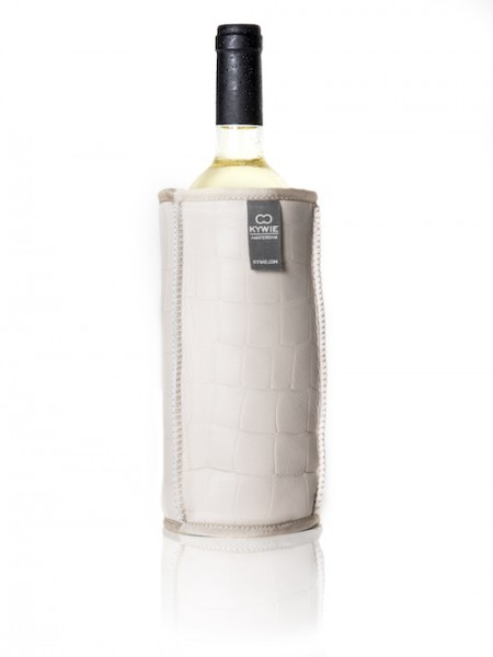 Kywie Wine Cooler Pearl Croco Leather Weinkühler