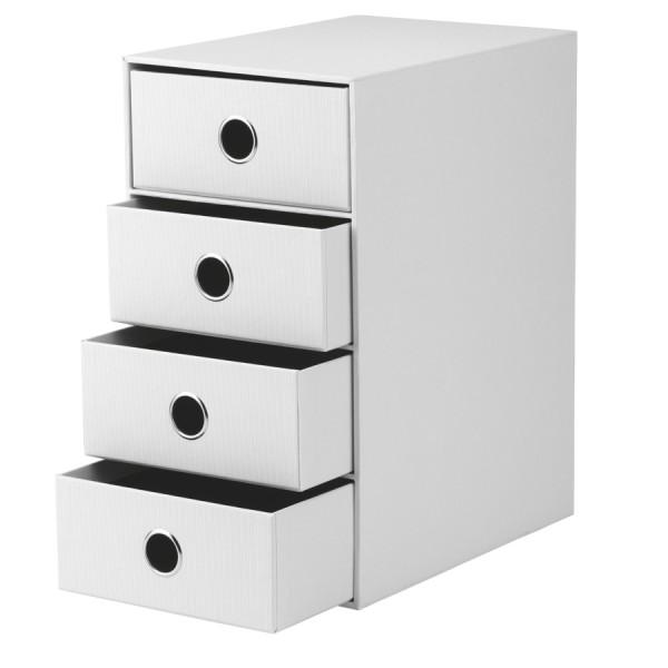 Rössler S.O.H.O. special edition White - 4er Schubladenbox