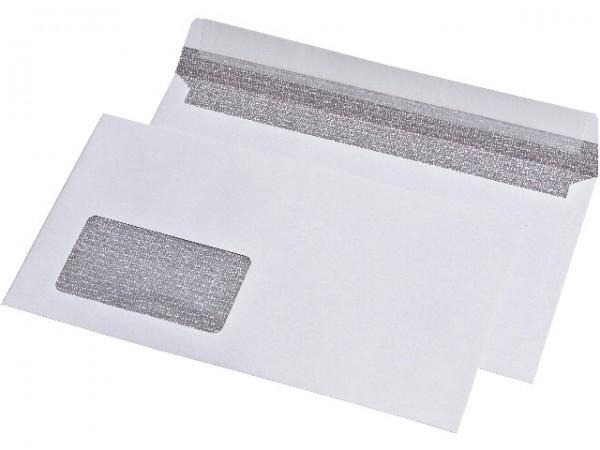 Briefumschlag 125x235 mm Kompaktbrief m. Fenster