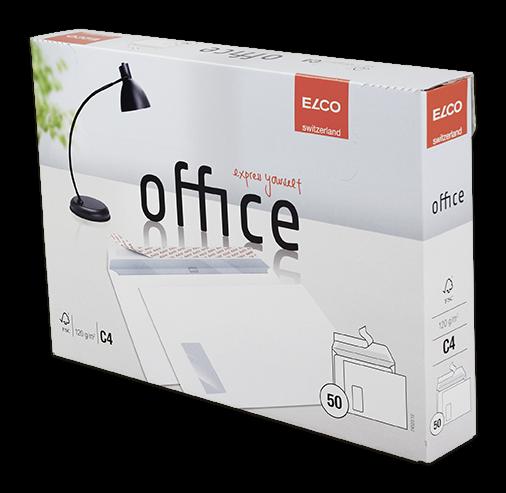 Office Kuverts mit Fenster Shop Box haftklebend C4