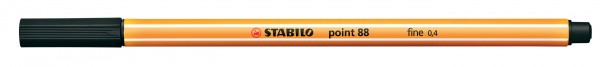 STABILO point 88 schwarz