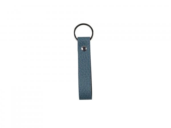 Schlüsselanhänger 13x2 cm hippo hellblau