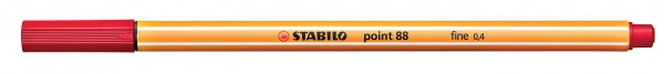 STABILO point 88 rot Fineliner