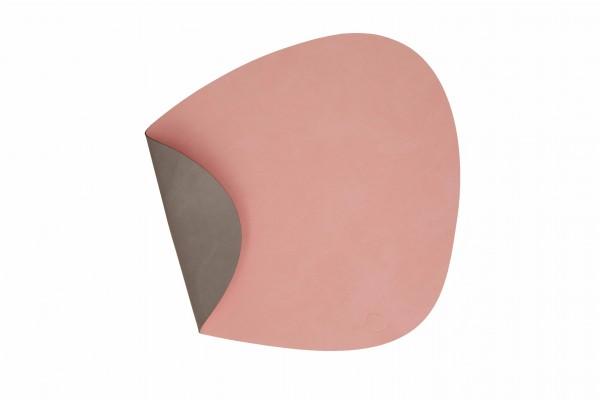 """Tisch Set """"DOUBLE Curve L"""" 37x44 cm NUPO rose/NUPO hellgrau"""