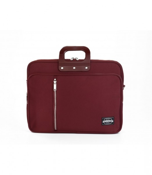 "Laptoptasche Bombata 24H Gabardina 15,6"" burgund"