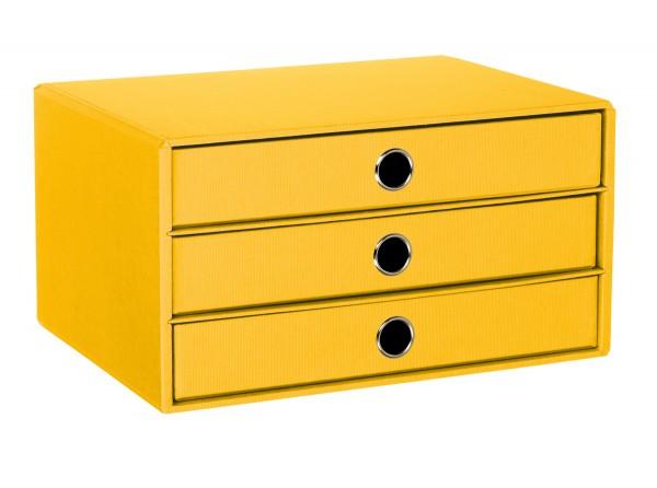 Rössler S.O.H.O. Sun - 3er Schubladenbox A4