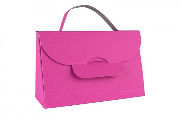 Buntbox Handbag L Magenta