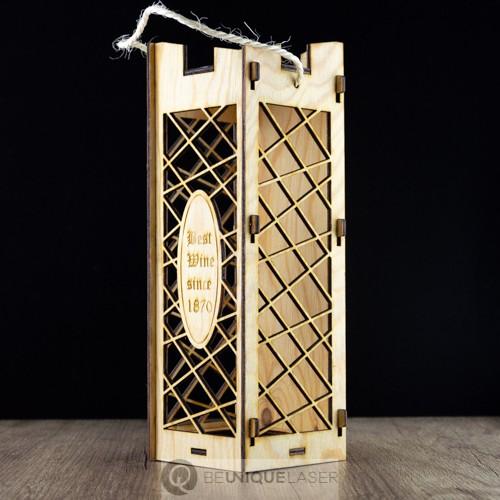 Weinbox aus Holz