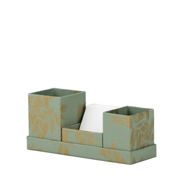 Rössler Yasashi Schreibtischorganizer mit Zettelbox