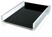 WEDO® Acryl-Briefablage A4 schw/klar