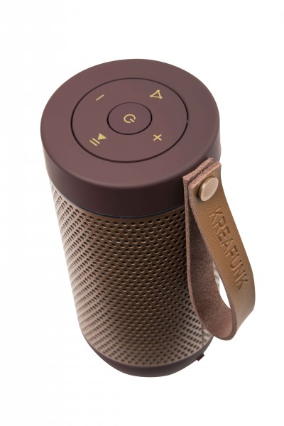 Bluetooth Lautsprecher plum/rose gold aFunk Kreafunk