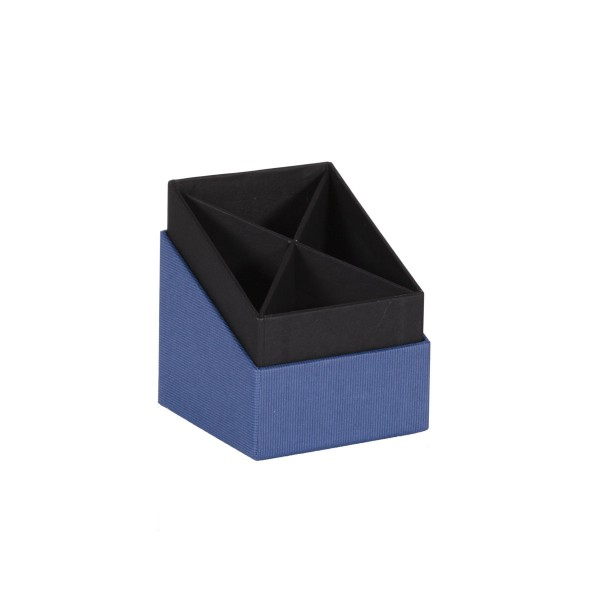 Rössler S.O.H.O. Blau - Stifteköcher 86x86x100 mm