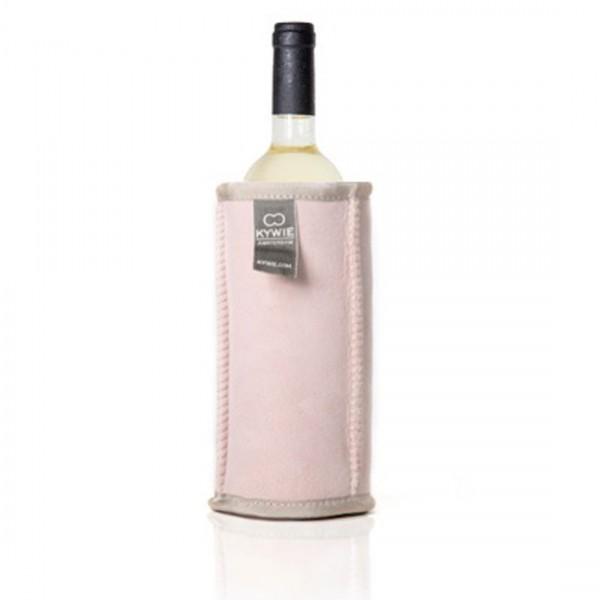 Kywie Wine Cooler Pink Suede Weinkühler