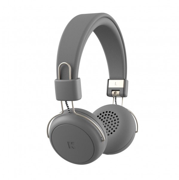 Kreafunk aWEAR Bluetooth-Kopfhörer cool grey