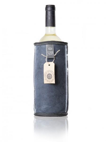 Kywie Wine Cooler Blue Suede Weinkühler