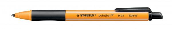 STABILO Pointball schwarz